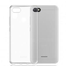 Чехол для Xiaomi Redmi 6A силиконовый прозрачный