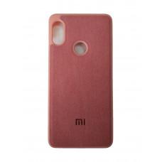 Чехол на Xiaomi Redmi Note 5 Замшевый (Розовый)