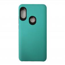 Чехол на Xiaomi Redmi Note 5 Пластиковый (Голубой)