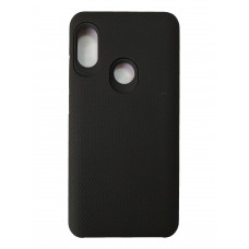 Чехол на Xiaomi Redmi Note 5 Пластиковый (Черный)