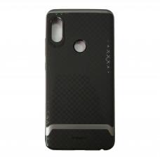 Чехол на Xiaomi Redmi Note 5 Пластиковый iPaky (Черный/Серый)