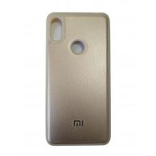 Чехол для Xiaomi Mi S2 тканевый (Золотой)