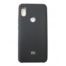 Чехол для Xiaomi Mi S2 пластиковый Soft-Touch (Черный)