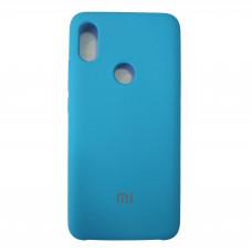 Чехол для Xiaomi Mi S2 Пластиковый Soft-Touch (Голубой)