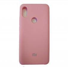 Чехол для Xiaomi Mi S2 Пластиковый Soft-Touch (Розовый)