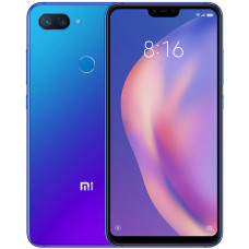 Смартфон Xiaomi Mi 8 Lite 4/64 GB (Синий/Blue) Global Version