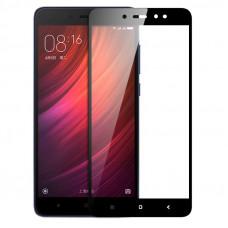 Защитное стекло с рамками для Xiaomi Redmi Note 5A Prime (Черное/Black)