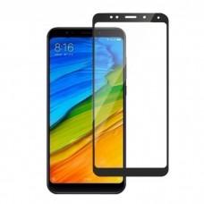 Защитное стекло с рамками для Xiaomi Redmi Note 5 / Note 5 Pro (Black/Черное)